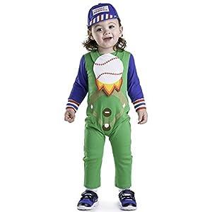 Dress Up America Disfraz de bebé de béisbol