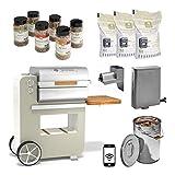 Grillson BobGrillsonPremium-Set4 Bob Premium Smoker-Set | Lindgrün