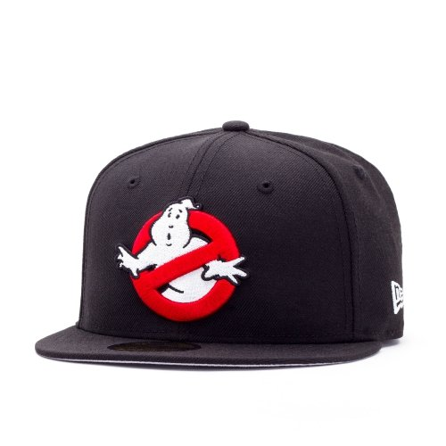 New Era Ghostbuster 59FIFTY Fitted Cap black/grey