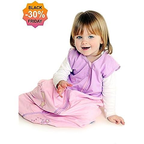 Slumbersac Bebé de Invierno Saco de dormir 2.5 Tog - rosa feérico , diferentes tamaños, desde el nacimiento hasta los 10
