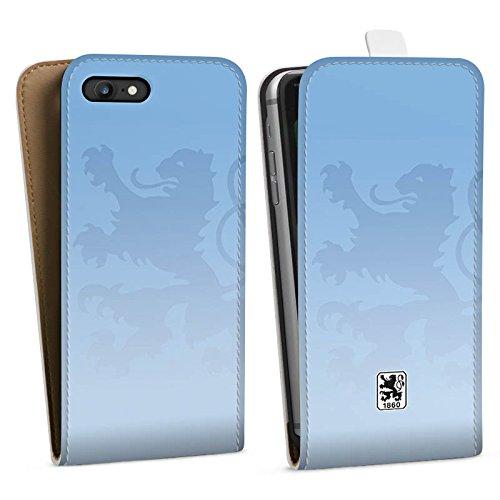 Apple iPhone 6s Silikon Hülle Case Schutzhülle TSV 1860 München Fanartikel Merchandise Fußball Downflip Tasche weiß