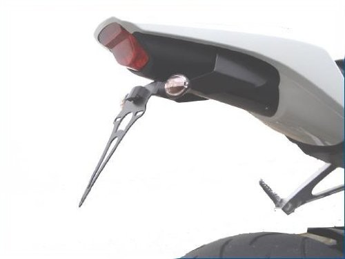 Honda CBR 1000 RR modèles 08-09 Support de plaque d'immatriculation RoMatech 2043