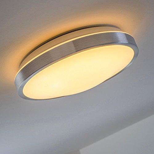 LED Deckenlampe Wutach rund - 900 Lumen 12 Watt LED warmweiss - IP44 Badezimmer geeignet