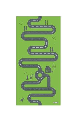 House of Kids 11764-e3alfombra de juego gigante poliéster, 200x 0,5x 100cm), multicolor