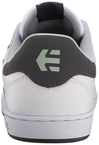 Etnies Herren Fader LS Skateboardschuhe Weiß (127/WHITE/GREY/GREY)