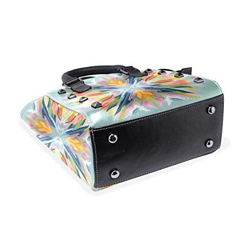 COOSUN, Borsa a mano donna multicolore Multicolour M Multicolor#1