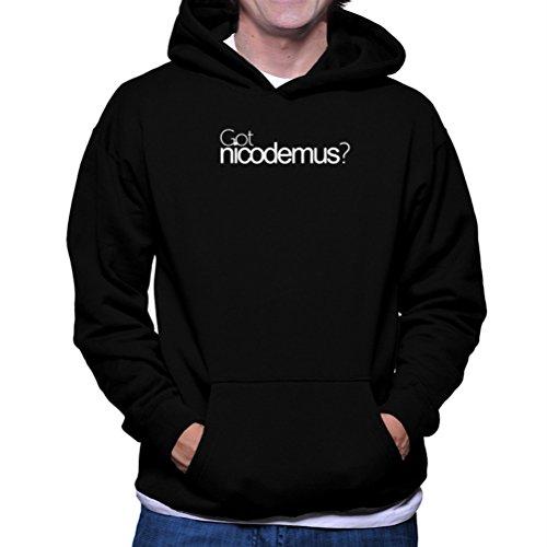 Felpe con cappuccio Got Nicodemus?