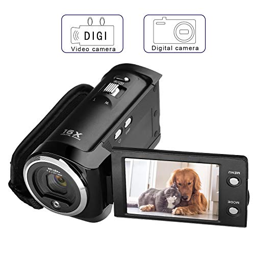 PowerLead PLC1204 720P Digital Video Camcorder 16MP Camera DVR 2.7inch TFT LCD 16x ZOOM Video Recorder