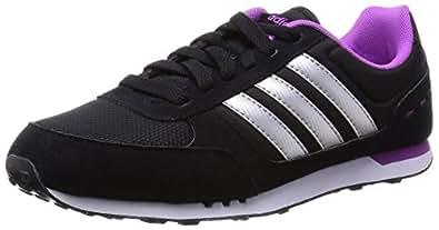 adidas , Herren Sneaker 40.0, Mehrfarbig - Negro / Plata / Fucsia - Größe: 36 2/3