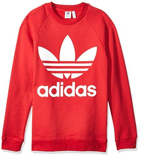 adidas Damen Oversized Jacke, Real Red, 46 (Adidas Frauen Jacke)