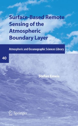 Surface-Based Remote Sensing of the Atmospheric Boundary Layer: 40 (Atmospheric and Oceanographic Sciences Library)