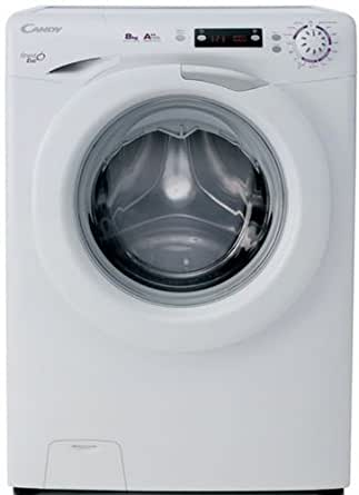 Candy EVO44 1282D Autonome Charge avant 8kg 1200tr/min A++ Blanc machine à laver - machines à laver (Autonome, Charge avant, Blanc, Gauche, 180°, Acier inoxydable)