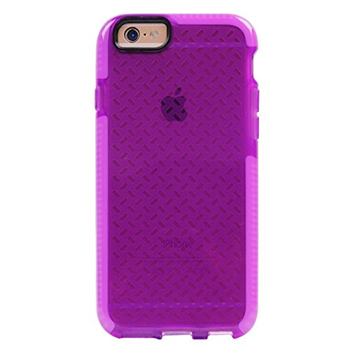 BING Für iPhone 6 / 6s, Reis Körner Muster TPU Schutzhülle BING ( Color : Dark Blue ) Purple