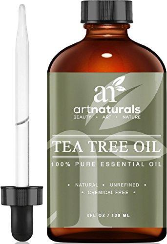 Artnaturals (art naturals) olio essenziale puro e naturale di albero del tè –4once di melaleuca premium artnaturals