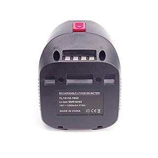 18V 1,5A Akku 2607336039 Power4All für Bosch AHS 48 LI AHS 52 LI ALB 18 LI ART 26 LI PAS 18 Li PAS18Li PML18LI PSB18LI-2
