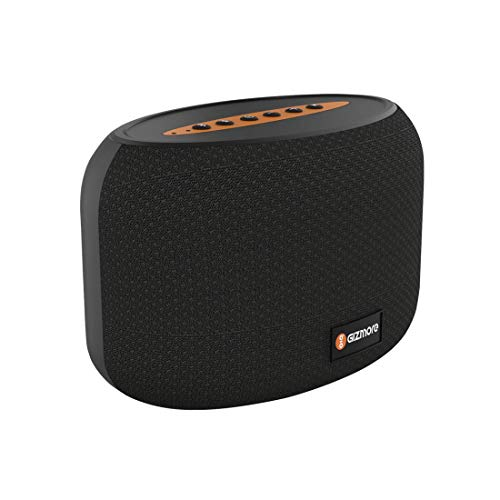 GIZMORE Wireless Speaker with Unbeatable Sound & Multiple Connectivity Output- 5W (Black)