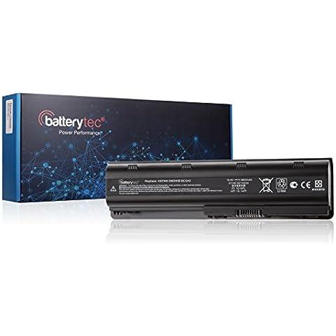 6600mAh Batterytec® Batería para HP Compaq Presario CQ32 CQ42 CQ43 CQ62 CQ56 CQ72 CQ630, G42-100 G32 G56 G62 G72 DM4-1000 DM4-2000 DV3-2000 DV4-4000 DV5-2000 DV6-3000 DV7-5000 593553-001 593554-001 DV7-4000eh HSTNN-UB0W HSTNN-IB0X HSTNN-IB1E HSTNN-Q60C HSTNN-Q61C HSTNN-OB0Y HSTNN-Q47C HSTNN-Q63C HSTNN-Q64C HSTNN-Q49C HSTNN-Q50C HSTNN-YB0X MU06 MU09 NBP6A174 NBP6A174B1[10.8V 6600mAh 12 meses de garantía]