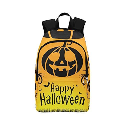Happy Halloween 31. Oktober lässig Daypack Reisetasche College School Rucksack für Männer und Frauen