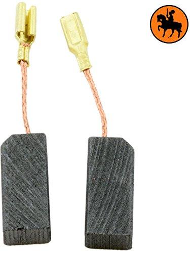 Buildalot Specialty Kohlebürsten ca-03-30630 für Bosch GBH 2 S - 5x8x19mm - Mit Kabel und Stecker - Ersatz für Originalteile 1.607.000.490 & 1.617.014.134 -