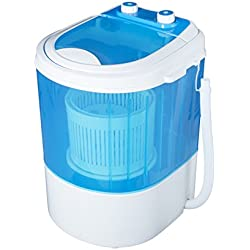 Vetronix VMWM2003 Portable Mini Washing Machine with Dryer Basket (3 kg,Blue ) (2 Year Warranty)