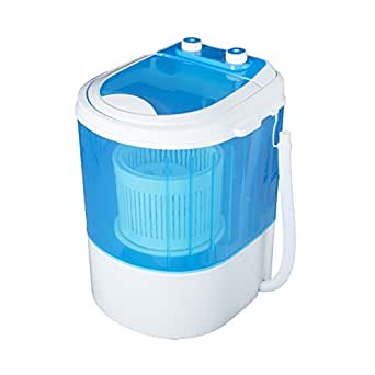 Vetronix Vmwm2003 Plastic 3 Kg Portable Mini Washing Machine With Dryer Basket (Blue)