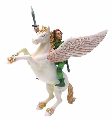 Plastoy - 61371 - Figurine-Pegase Et L'Elfe Cavalier