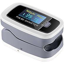 【Edición de Salud】Mpow Oxímetro de Dedo,Pulsioxímetro de Dedo Oxímetro Pulsómetro Digital,Lector de Pulso Digital de Lectura Instantánea,Sensor de Oxígeno y Monitor de Frecuencia de Pulso,Aprobado por FDA&CE