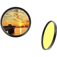 dHD Digital - Filtro de Color (40,5 mm), Color Amarillo