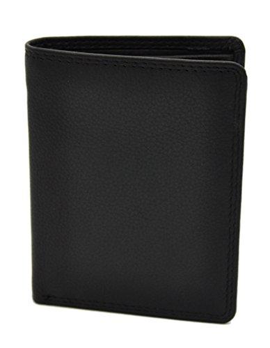 kleine echt Leder Geldbörse Portemonnaie RFID NFC Schutz Blocker Jockey Club Nappaleder