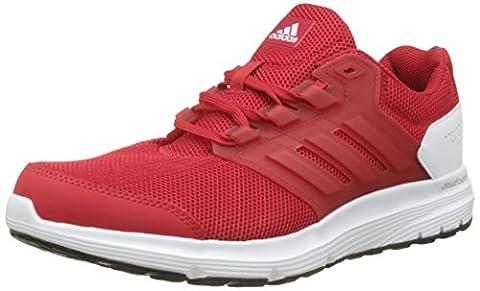 adidas Herren Galaxy 4 Laufschuhe, Rot (Scarlet/Scarlet/Footwear White), 44 2/3 EU