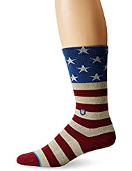 Stance The Fourth Socks rouge