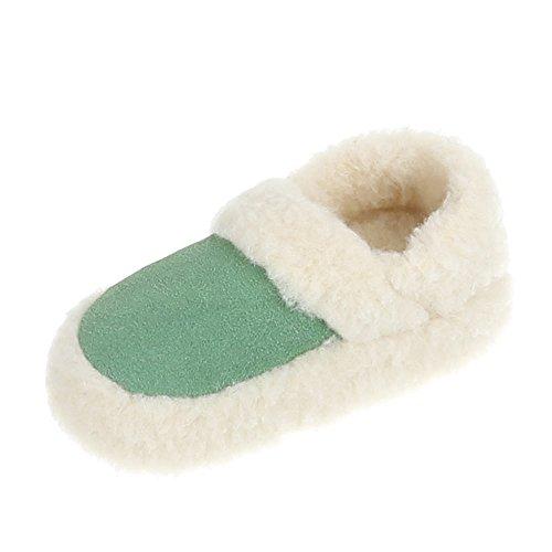Damen und Herren Schuhe, PAN-1-301, HAUSSCHUHE Grün