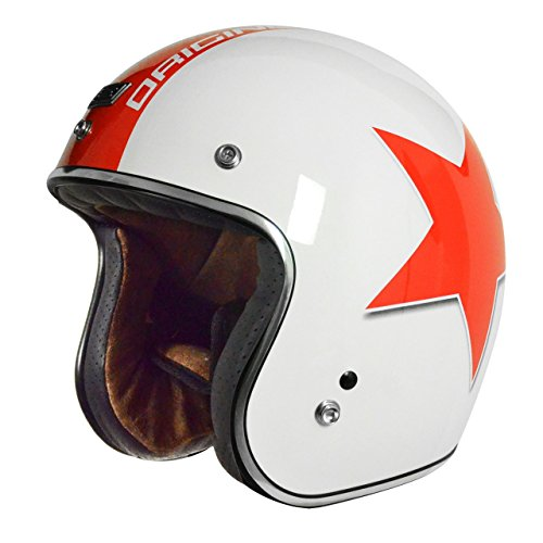 M Scotland Casco Moto Cross Titanio Opaco Taglia 57-58