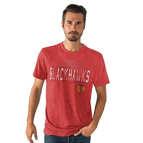 G-III Sports NHL Herren 's Line bis Tri Blend T-Shirt, Mädchen Jungen Unisex-Kinder Damen Herren, Weiß, Small - Stanley Line
