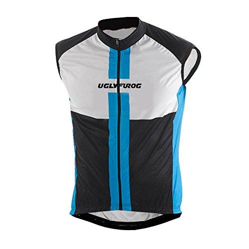 Jersey Cycling Schwinn (Uglyfrog 2017 Ärmellos Fahrradtrikot Bike Jersey atmungsaktiv Reiten Cycling Vest für Outdoor Radfahren MJHB01)