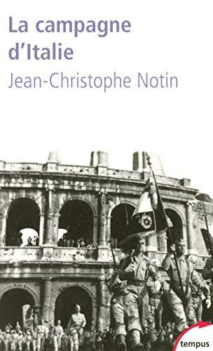 La campagne d'Italie par Jean-Christophe NOTIN