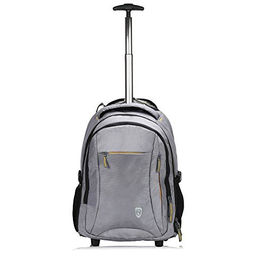Novex Polyester 35 Ltr Grey Laptop Roller Case