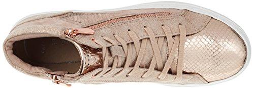 Marco Tozzi 25202, Sneakers Hautes Femme Rose (Rose Comb 596)