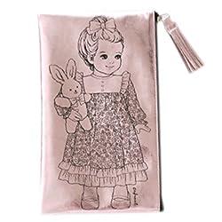 Afrocat Paper Doll Mate Golden Tassel Pouch Multi Purpose Organizer Julie