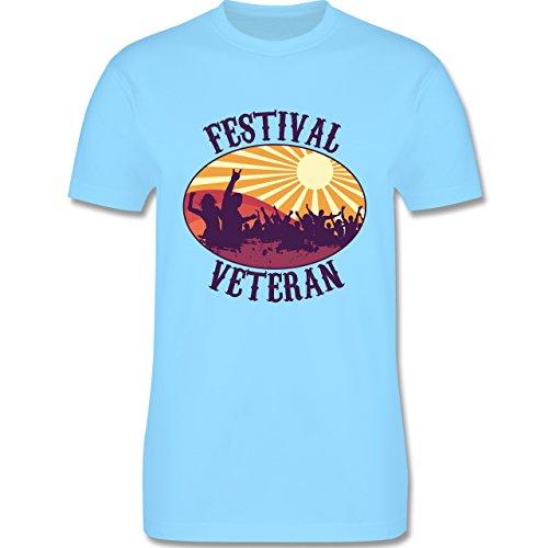 Festival - Festival Veteran Badge - Herren Premium T-Shirt Hellblau