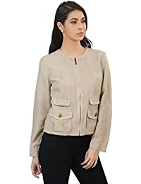 MansiCollections Full Sleeve Cotton Jacket for Women