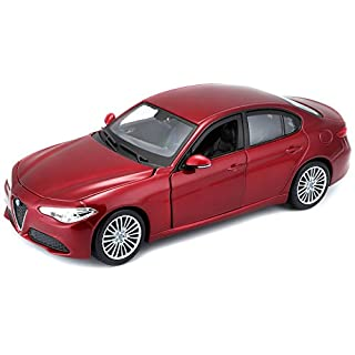 Bburago 15621080 - 1:24 Alfa Romeo Giulia vehicle, assorted colors
