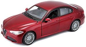 Bburago - Alfa Romeo Giulia 2016 (18-21080) , Modelos/colores Surtidos, 1 Unidad