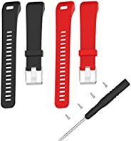 For Garmin Vivosmart HR+ Bands TenYun Replacement Silicone man/woman Adjustable Sport Strap Band And Pin Remov
