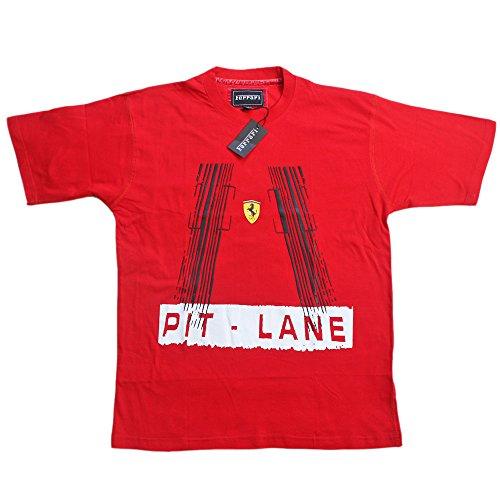 Ferrari Pit Lane TSH 2SCHerren T-Shirt Scuderia Formel 1 Team Tee F1 Rot Hemd Top Cotton -