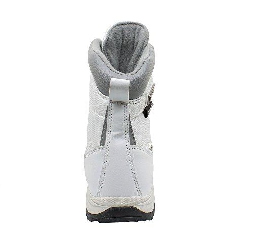 Kefas - K-Warm 3219 - Bottes de neige Femme - Semelle Ice Lock et doublure Thinsulate Blanc