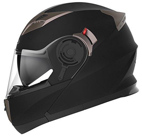 Casco Moto Modular ECE Homologado - YEMA YM-925 Casco de Moto Integral
