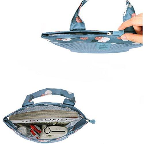 Leinwand Messenger Bags Casual Shoulder Pack Tagesrucksack Sling Bag für Damen und Herren Sport, Arbeit, Schule, Reisen Blau