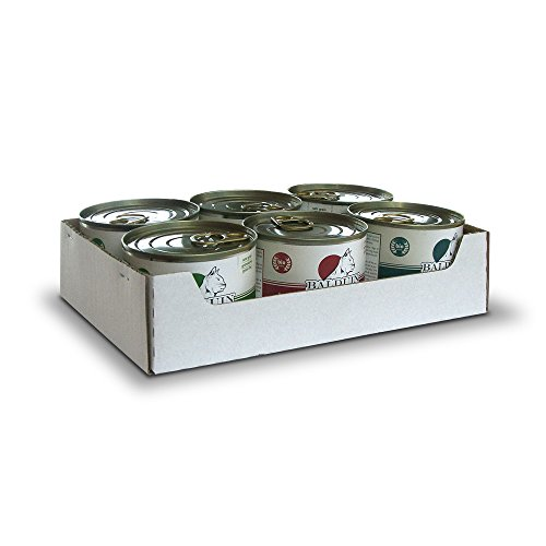 Balduin Bio-Katzenfutter (Mixtray, je 6 x 200 g Bio-Rind, Huhn und Herzen-Menü)