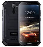【2019】DOOGEE S40 robusta 4G Android 9,0 Rugged Smartphone in Offerta - 5,5'' HD+ (Gorilla Glass 4) IP68 impermeabile Resistenti Cellulare militare, dual SIM, 4650mAh, 2GB + 16GB, GPS/NFC/WIFI - Nero